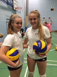 Leah and Molly selected for England - Ashcombe Volleyball Club